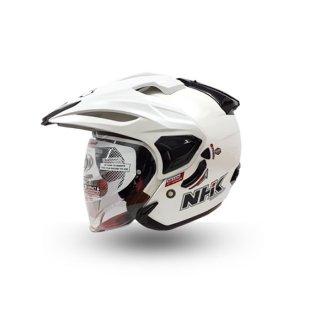 Helm NHK Halfface NHK Predator Crypton Solid