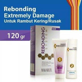 Makarizo Rebonding System Tube Set For Dry/Damaged Hair