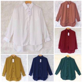 BASIC blouse by ZALFA sedia XXL XL L