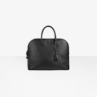 Balenciaga Ville Supple Large Top Handle Bag In Black