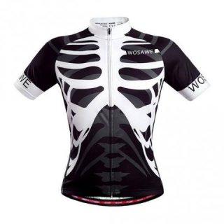 Pria Bersepeda Jersey T Kemeja Cepat Kering Reflektif Stretchy