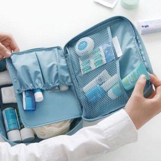 Monopoly Cosmetic Pouch Tas Kosmetik Travel Organizer Make Up Bag