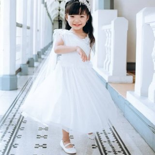 Pretty Girl - Andrea Princess White Dress