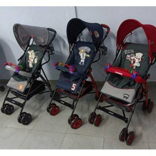 Stroller Bayi Buggy Baby Does New Motif