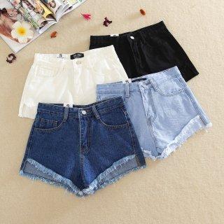 Woman Summer Casual Denim Shorts Jeans