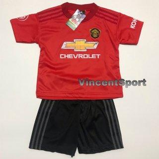 Baju Bola Anak MU Merah