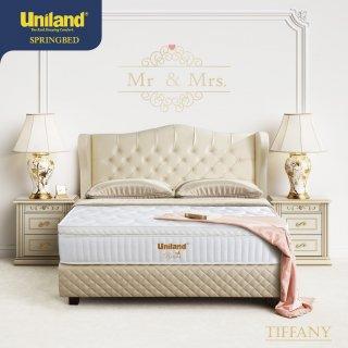 Uniland Springbed Rivera Pillowtop Tiffany Full Set Kasur Spring Bed