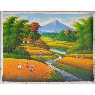 27. Lukisan Kampung Halaman