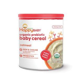 Happy Baby Organic Probiotic Baby Cereal Multi Grain Sereal Bayi