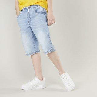 Max Fashion Pocket Detail Denim Shorts with Drawstring