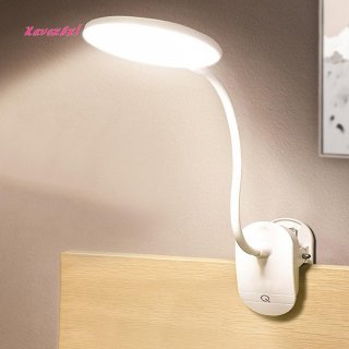 XA Lampu Meja LED USB Cas Ulang dengan Saklar On/Off Sentuh + Dimmer Proteksi Mata + Klip Jepit