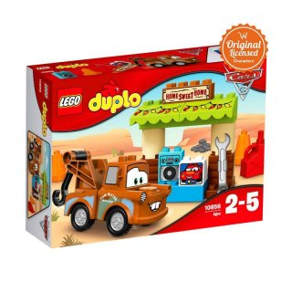 LEGO DUPLO brand Cars MaterS Shed 10856