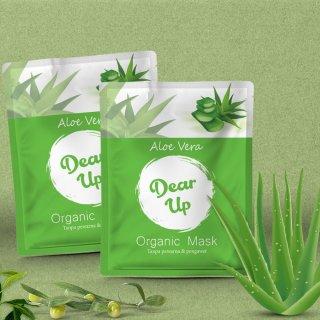 Masker Organik Dear Up Aloe Vera