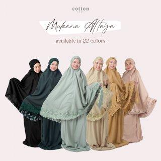 Cotton Inch - Attaya Mukena Khadijah Warm Color