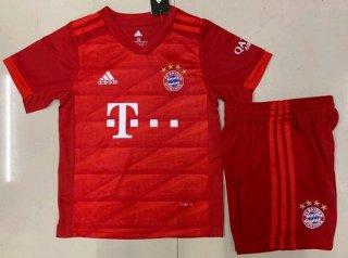 Baju Bola Anak Munchen Merah
