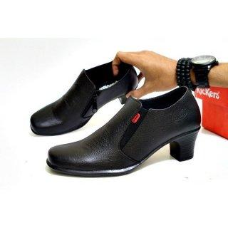 Sepatu Kerja Wanita Kickers Pantofel Kulit