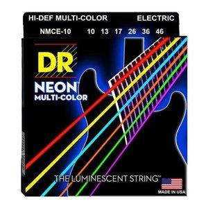 Senar Gitar Listrik Elektrik Neon Multi Warna Dr Strings Nmce 10