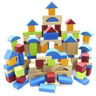 ELC Blocks Wooden Bricks