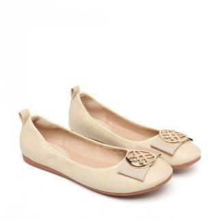 PVN Yara Gold Sepatu Flats Wanita