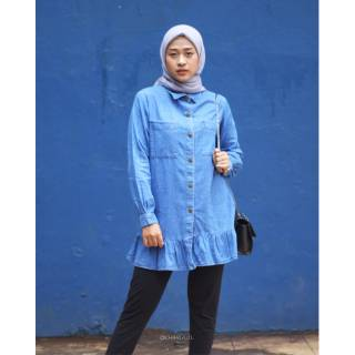 Charla.id - Boona Jeans Tunic T0407