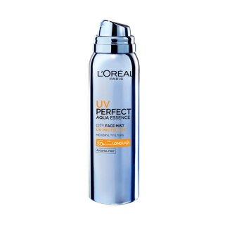 Loreal UV Perfect Aqua Essence City Mist SPF50