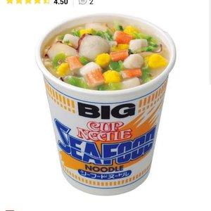 Nissin BIG Cup Noodle Seafood Ramen