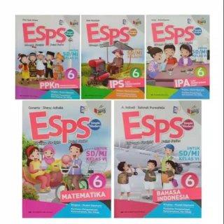 Paket Buku ESPS K13 Erlangga Kelas 6