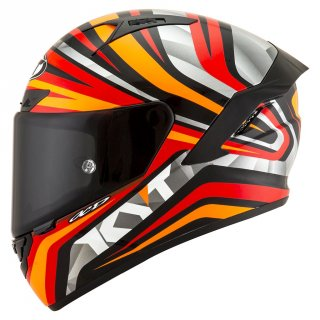 KYT NX RACE Mood Red Fluo