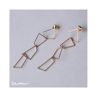 Anting Emas - Sen Angles Earring