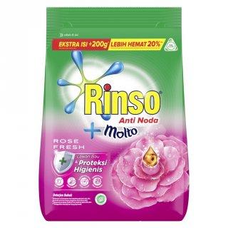 Rinso Molto Rose Fresh Detergen Bubuk