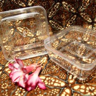 Lusin Kotak Toples Nastar Kue Kering Plastik