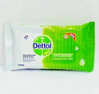 Dettol Wet Wipes Tisu Basah