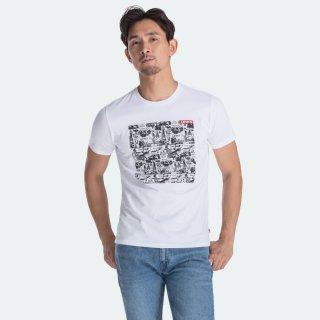 Levi's Graphic Crewneck Tee Ssnl Concept White (22491-0561)