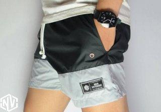 Celana Pendek Santai/Celana Pantai Original Noir Vetements