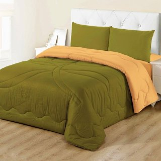 Vallery - Bed Cover King & Queen - Motif Polos