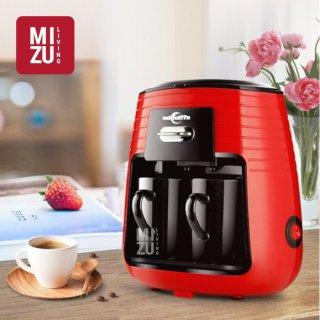 EDOOLFFE MD-235 Mesin Kopi Elektrik Drip Coffee Maker with Ceramic Cups