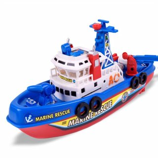 Mainan Perahu Pemadam Kebakaran Elektrik