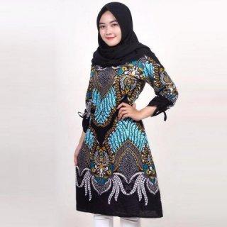 Batik Prass Modern Tunik Batik Wanita