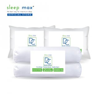 Sleep Max Pillow Bolster Double Complete/Paket Bantal & Guling
