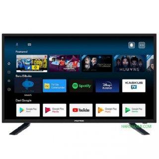 LED POLYTRON SMART ANDROID FRAMELESS TV 43 INCH PLD 43AG9953