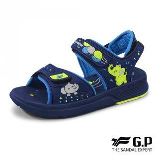 Sepatu Sandal Anak Laki-laki Gold Pigeon GP Kids Fumpy Navy G0707B-20