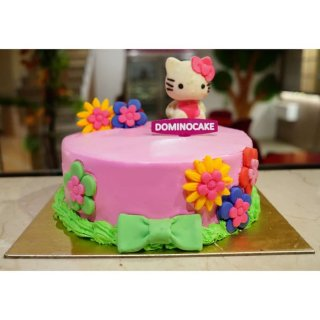 Kue ulang tahun - kue ulang tahun anak tema hello kitty - kue ultah
