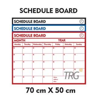 TRG - Schedule Board Pastel