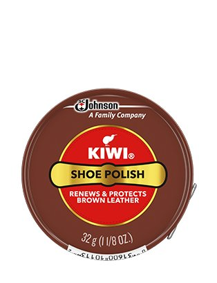 KIWI Polish Renews Brown Leather