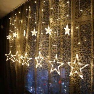 Lampu Gantung Tirai Bintang