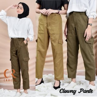 CS - Clowny Cargo Baggy Pants American Drill