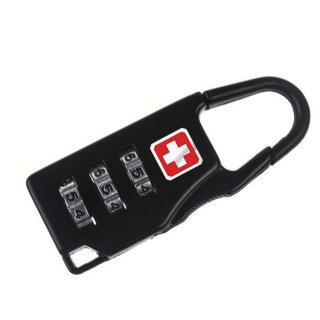 Gembok Swiss Password Code Lock Kunci Koper Kombinasi Angka Travel B