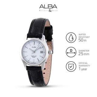 Jam Tangan Wanita Alba STANDARD Quartz Leather AXU035 Original