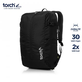 Torch Tas Ransel Light Travel Backpack Toba 30L Black
