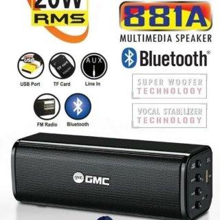 Speaker Bluetooth Mini GMC 881A